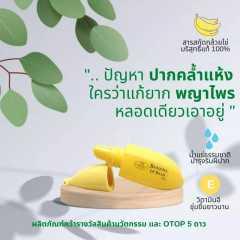 ลิปบาล์มบำรุง ลิปบาล์มกล้วยไข่ Banana Lip Balm