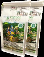 กาแฟออแกนิค Yoddoi Organic Coffee (คั่วอ่อนผสมคั่วเข้ม ชนิดเมล็ด) 2 แพ็ค