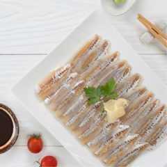 เนื้อปลาข้างเหลืองปรุงรส  2 แพ็ค