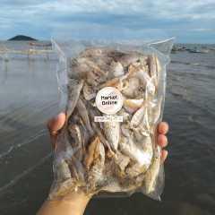 ลูกปลาไซส์ใหญ่ อาหารทะเลแห้ง