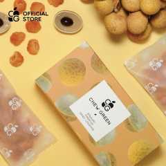 ลำไยอบแห้ง 100% พรีเมียม หอม อร่อย หวานธรรมชาติ ไม่ใส่น้ำตาล (120 กรัม)