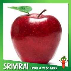 แอปเปิ้ลแดงวอชิงตัน เกรดพรีเมี่ยม USA  1 แพ็ค 5 ลูก