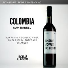 กาแฟสกัดเย็น Colombia Villa Clara Barrel Aged Rum