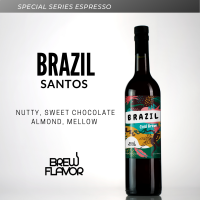 กาแฟสกัดเย็น Brazil Santos แบบเข้มข้น