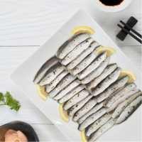 เนื้อปลาซาร์ดีนดองน้ำส้ม (Vinegar Sardine Fillet)  2 แพ็ค